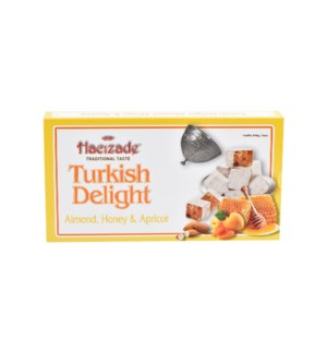 DELIGHT HONEY-ALMOND & APRICOT  454GRx12