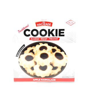 COOKIE WITH APPLE MARMALATE 454 GRx12