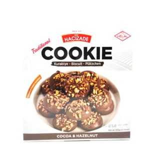 COOKIE/ COCOA & HAZELNUT 350 GRx12