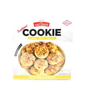 COOKIE/LEMON & HAZELNUT 350 GRx12