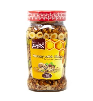 HONEY WITH NUTS 720GRX12
