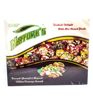 TD MIXED NUTS FRUITS SLICED 300GRX10