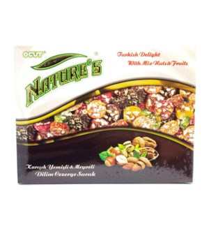 TD MIXED NUTS FRUITS SLICED 180GRX20