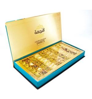 Premium Luxury Arabian Sweets 750grx10