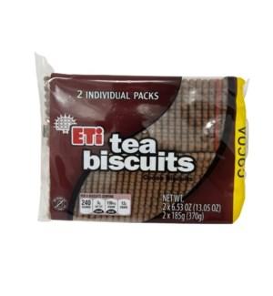 PETIT BEURRE COCOA 370GRx10