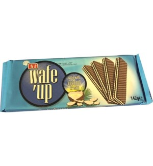 WAFE UP COCONUT CREAM 142GRx20 (S.PROMO)