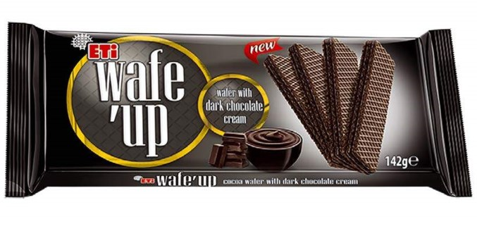 WAFE UP DARK CHOCOLATE WAFERS 142Gx20