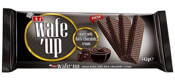 WAFE UP DARK CHOCOLATE WAFERS 142Gx20