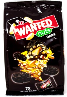 WANTED NUTS DARK 140GRx12 (R.PROMO)