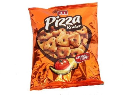 PIZZA CRACKERS 95GRx12