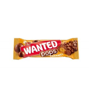 WANTED POPS CARAMEL 28Gx24