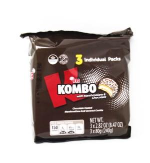 KOMBO (BENIMO) W. CHOCOLATE 240GRX16
