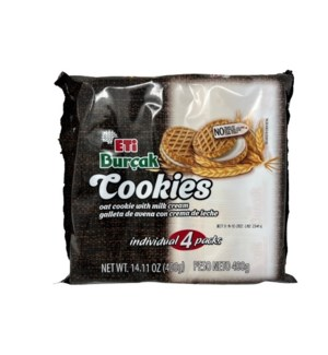 WHOLA DIGESTIVE COOKIES WITH MILK CREAM 400GRX18