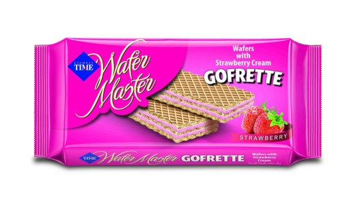 GOFRETTO WAFERS STRAWBERRY 40GX24X6 (SUMMER PROMO)
