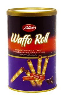 ROLL WAFER WITH CHOC. CREAM 250GRx12