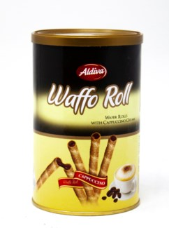 ROLL WAFER WITH CAPPUCINO CREAM 250GRx12
