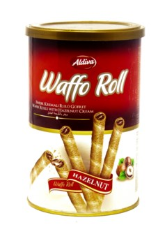 ROLL WAFER WITH HAZELNUT CREAM 250GRx12