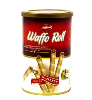 WAFER ROLLS W/ HAZELNUT 250GRx12