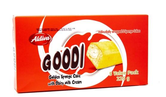 GOODI CAKE WITH MILK (45GRx5)x12