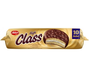 HIGH CLASS COCOA COATED MARSHMALLOW BISCUIT 220GRx18