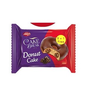 chocolate covered and filled Donut Cakes Multipack (240Grx12)