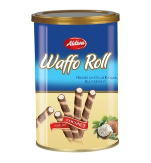 WAFFO ROLL WAFER WITH COCONUT CREAM 250GRx12