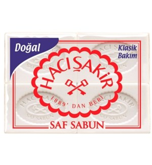 BATH SOAP NATURAL 4PKx15PC