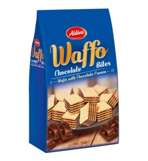 CUBE WAFERS/CHOCOLATE 200GR x12