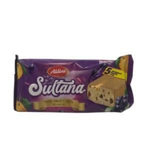 ALDIVA SULTANA FRUIT DROP CAKES 40GR*5(200GR)X16