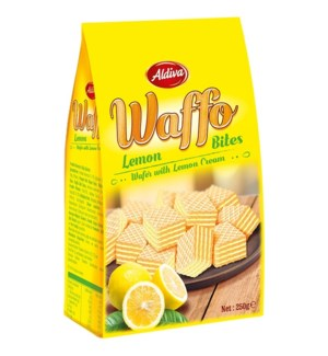 ALDIVA WAFER BITES WITH LEMON CREAM 200*12