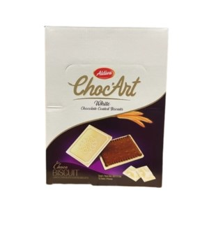 ALDIVA CHOCART BISCUIT COATED W CHOCALATE 100Gx12x6