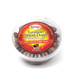 DEGLET PITTED DATES (680G) 24OZx12