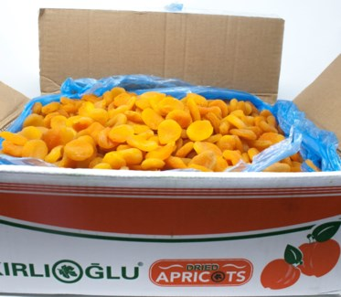 TURKISH DRIED APRICOTS LARGE 12.7kg