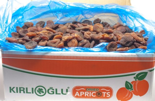 ORGANIC DRIED APRICOTS 12.7kg