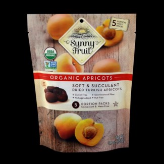 ORGANIC DRIED APRICOTS 8.8 oz x 18