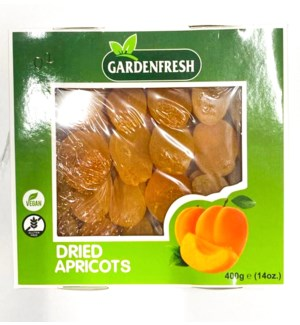 DRIED APRICOT 14OZ X 12