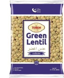 GREEN LENTIL 900GRx12