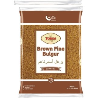 BROWN FINE BULGUR 900Gx12