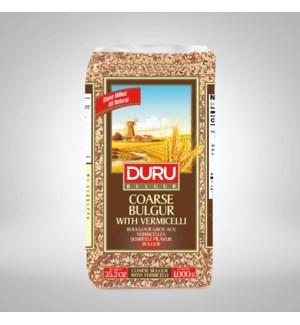 Duru Coarse Bulgur W/Vermicelli 1KGX10