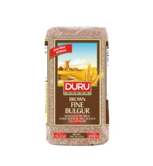 Duru Brown Fine  Bulgur (1000g x 10pcs)