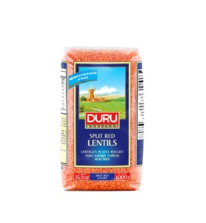 Duru Split Red Lentils 1KGX10