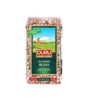 Duru Cranberry Beans (Barbunya) (1000g x 6pcs)