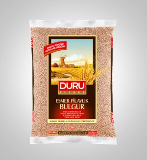 Duru Brown Coarse Bulgur  (2500g x 6pcs)