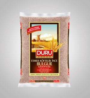 Duru Brown Fine Bulgur  (2500g x 6pcs) (OCT PROMO)