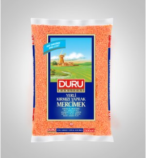 Duru Split Red Lentil (2500g x 6pcs)