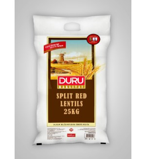 Duru Split Red Lentil 25kg