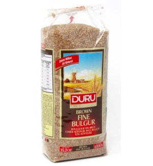 Duru Brown Extra Fine  Bulgur (1000g x 10pcs)