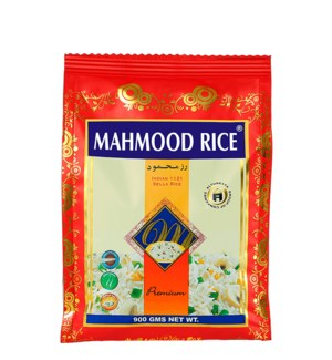 MAHMOOD XXL WHITE BASMATI RICE 2LBx20