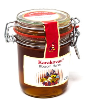 KARAKOVAN BLOSSOM HONEY JAR 450GRx8 (R.promo)
