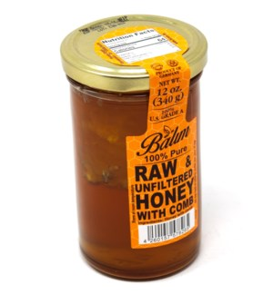 BLOSSOM PURE HONEY WITH COMB 340GRX12
